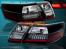 2007-2009 TOYOTA CAMRY SE/LE/CE LED TAIL LIGHTS BK NEW