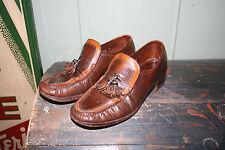 VTG Mens Rat Pack Hipster FLORSHEIM IMPERIAL Loafers Tassel Shoes 7.5D