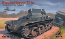 BERGESCHLEPPER 731(f) - WW II GERMAN TANK WRECKER/RECOVERY VEHICLE 1/72 RPM