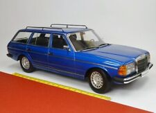 Mercedes E-Class 250 T (S123) Blue 1:18 - Kk-scale 180091