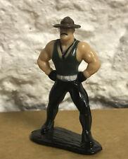 GI Joe ARAH 1989 Sgt. Slaughter - MICRO / MINI FIGURE VINTAGE HASBRO TOYS RARE!