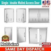 Multi-sizes BBQ Double Single Doors Outdoor Kitchen Stainless Steel Access Door