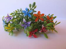 Wholesale 10 Miniature LILY Flower Branches Assort Colour Plant Dollhouse craft