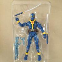 Hasbro Marvel Legends Wave 3 DEADPOOL BLUE FIGURE Strong Guy Wave no BAF