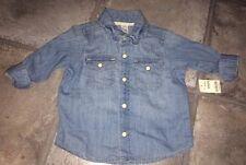 Gap Denim Baby Boys' Shirts 0-24 Months