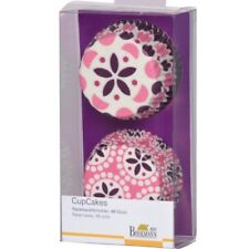 Muffinförmchen Cupcake Papierförmchen Muffin Spring Time Purple rosa lila