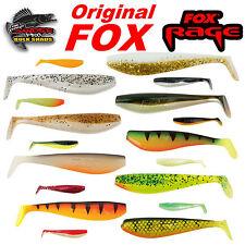 Fox Rage ZANDER PRO SHAD BULK Gummifische Softbait Shads Lure 10, 12, 14 cm TOP!