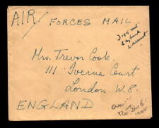 1945 British Indian Forces Cover to Uk - L5467