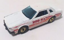 Hot Wheels Datsun 200 SX White Diecast Car - Vintage 1981 - NICE