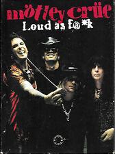 MOTLEY CRUE - Loud As F@*k Fuck 2CD & 1 DVD Set - Vince Neil, Nikki Sixx - VGC.