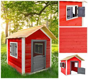 HOME DELUXE Spielhaus Kinderspielhaus Holzhaus Gartenhaus Garten Kinderhaus
