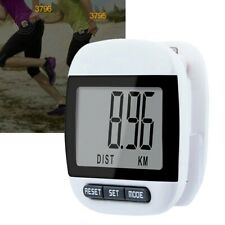Large-LCD Waterproof Step Pedometer Sport Calorie Counter Walking Distance↙