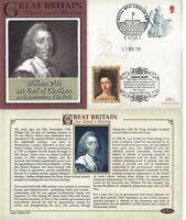 15 NOV 2008 300th ANNIVERSARY OF THE BIRTH OF WILLIAM PITT BENHAM LE COVER