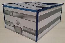 Verwaltungsgebäude für Logistik/Gewerbe HO 1:87 Epoche 5/6 Kartonmodellbausatz