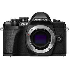 Olympus OM-D E-M10 Mark III Mirrorless Micro Four Thirds DSLR Camera Black, Body