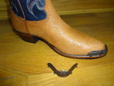 New Copper colored Cowboy Boot Tips/Toe Plates for Round Toed Boots