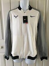 Nike Mens Premier Rafael Nadal Jacket White-Gray