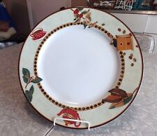 "(1) 10 7/8"" MIKASA ""VILLAGE CAFE"" PATTERN  PERMA SEALED DINNER PLATE"