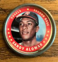 1971 Topps COINS #28 Sandy Alomar - Angels