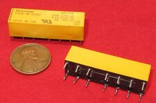 2 pc Aromat DS4E-M-DC5V Relay, 400mW, 62.5 OHM, 4PDT, Single Side Stable, DIP-14