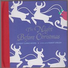 NEW FIRST Ed AUTOGRAPHED Night Before Christmas POP UP Robert Sabuda C Moore