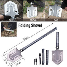 More details for multifunctional foldable ordnance shovel military shovel shovel camping tool
