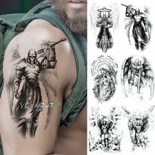 Temporary Tattoos Men Women Body Art Fake Sticker Arm Leg Chest Waterproof Angel
