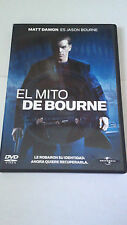 "DVD ""EL MITO DE BOURNE"" PAUL GREENGRASS MATT DAMON FRANKA POTENTE"