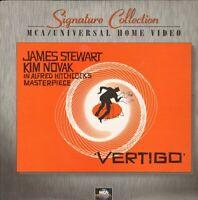 Vertigo - The Classic Hitchcock Thriller 2 LASERDISCS Free Shipping