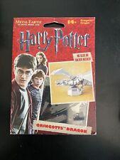 Metal Earth Harry Potter Gringott's Dragon Steel Model Kit New