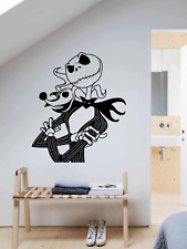 NIGHTMARE BEOFORE CHRISTMAS JACK AND ZERO LARGE VINYL DECAL Art Wall sticker
