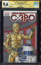 Star Wars Special CGCSS 9.6 WP R2-D2 C-3PO Color Sketch by Fraim Brothers