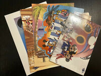 Disney Cruise Line Post Card Lot New!!!! (Total Of 11) Mickey Mouse Castaway Cay