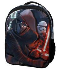 12 x Kids Backpack StarWars 3D Backpack Bookbag Episode 7/ Liquidation Sale