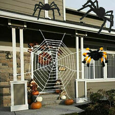 30cm Giant Black Spider Halloween Decor Haunted House Prop Indoor Outdoor Sy