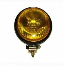 Hella 12V/55w Round Fog Lamp Yellow Glass With Cover Without Bulb