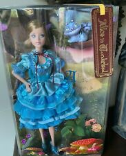Barbie as Alice In Wonderland Collector Silver Label L5849 NIB NRFB Cheshire Cat