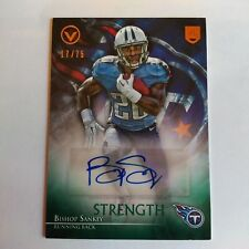 2014 Topps Valor Bishop Sankey RC Tennessee Titans Washington 17/75 Auto