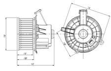 Blower Motor Front TYC 700236 fits Chevrolet Silverado / GMC Sierra