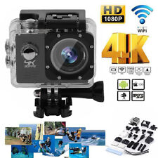 2019 NEW Wifi 1080P 4K Ultra HD Sports Action Camera DVR Camcorder Waterproof WF