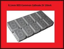 Avago Technologies HDSP-C5L1 7-Segment Anzeige LED 13,10mm Höhe Orange *3 Stück*