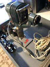 Rare Vintage Alpex Portable 35mm Slide Projector w/ Case and Pop Up Screen