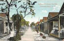 Rockaway Beach New York Hollywood Cottages Sea Side Antique Postcard K106747