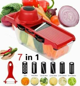 Kitchen Manual Mandoline Vegetable Slicer tomato cheese Fruit Cutter Grate blade