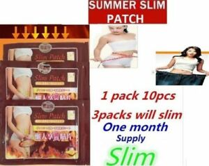 ONE MONTH 30 PATCH FAST ACTING WEIGHT LOSS SLIM PATCH BURN FAT DIET SLIMMING PAD