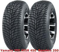 (2) Yamaha YFZ 450R 450  Banshee 350  Rear 20x10-9 20x10x9 Hi-Speed ATV Tires