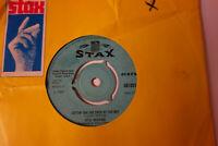 OTIS REDDING (SITTIN' ON) THE DOCK OF THE BAY STAX PAPER SLEEVE 1968 SINGLE VG+