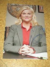 Parks and recreation Amy poehler original autographe grossfoto!