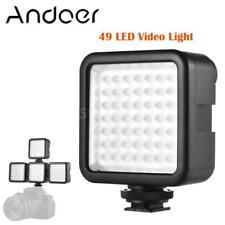Andoer Mini 49 LED Video Panel Light Lamp Dimmable for DSLR Camera DV Camcorder