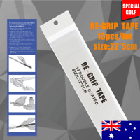 13 Piece Set Golf Grip Tape. Pre-Cut Double Sided Golf Club Grip Tape 22 x 5 cm.
